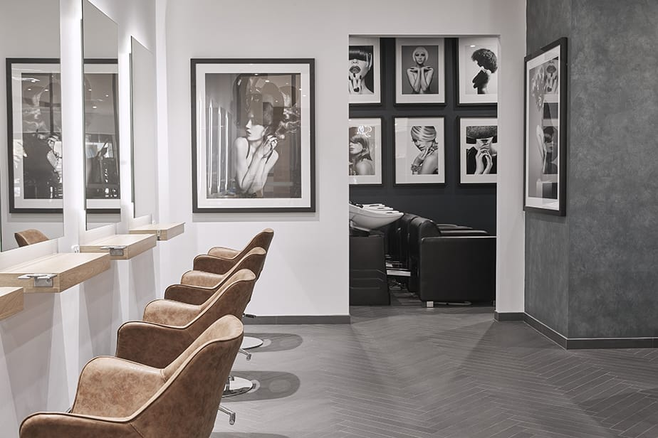 Lavish Hair + Beauty Bar. Celebrating Textures in Salon Design.