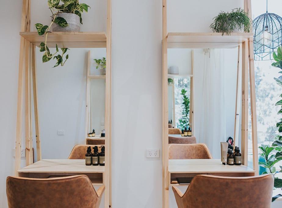 Zani Hairdressing.  Mastering the Eco-Organic Salon Interior Look
