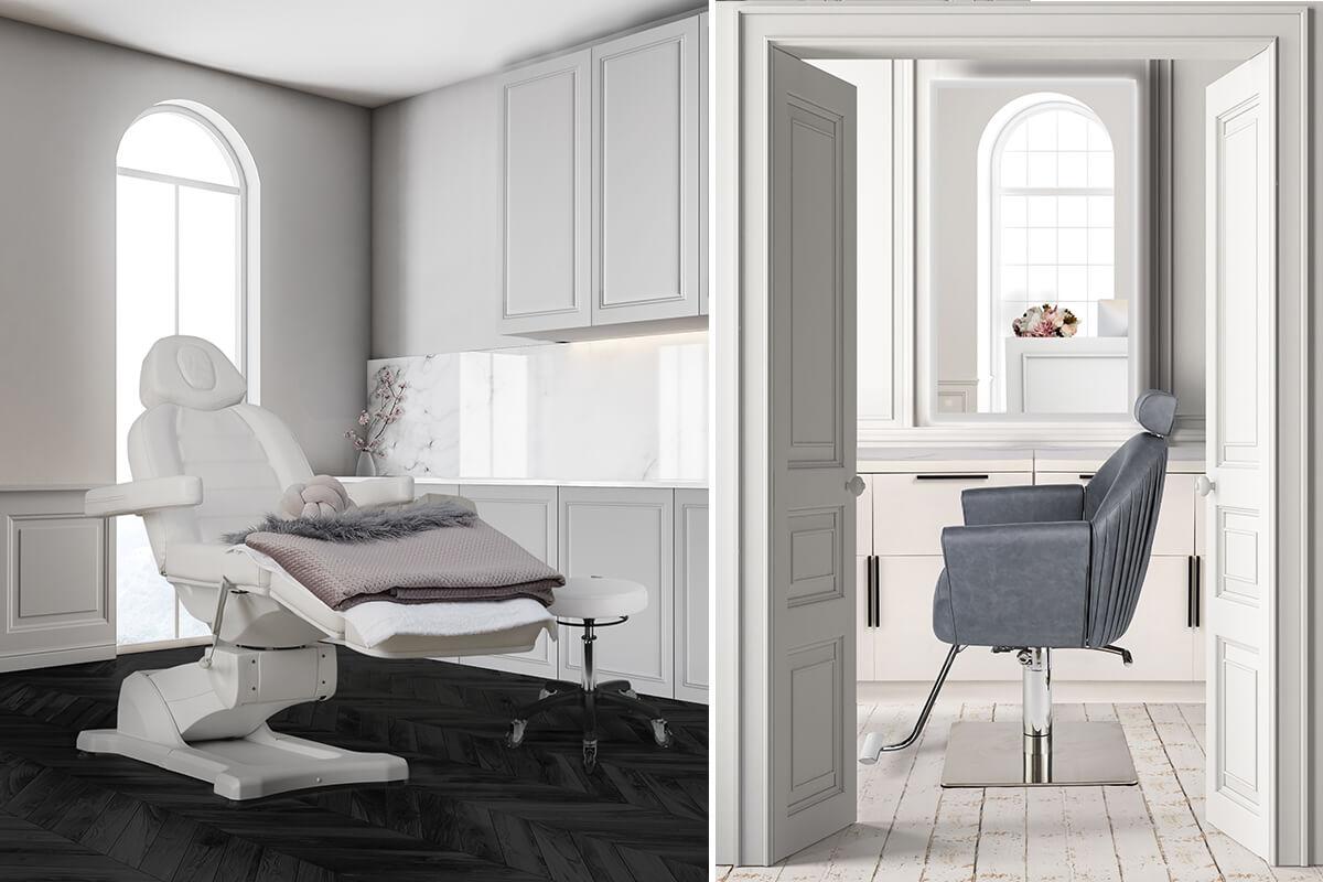 Salon Interior Design Inspo Luxe Chic Beauty Salon Comfortel