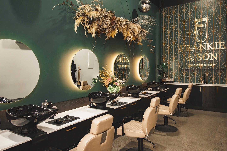 Art Deco Delight: Frankie & Son Barbershop