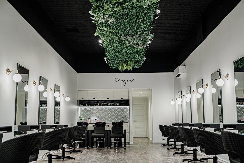 Sophisticated Luxe Salon Look:  Ten June